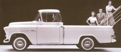 1955 Chevrolet Cameo Restomod