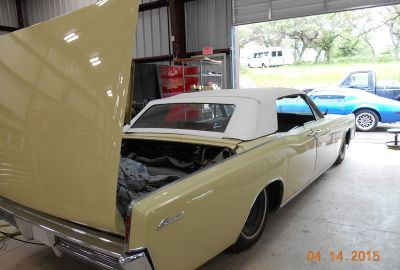 1966 Lincoln Continental Convertable