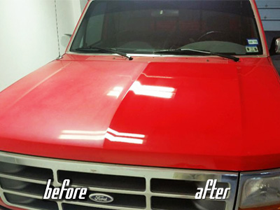 truck paint correction